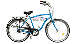 3 speed beach cruiser with hand brakes