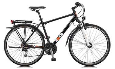 21 speed trekking bike